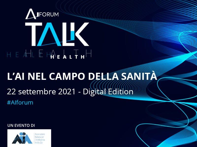 AI Talk Health 2021: Open Search Group all'evento sull'IA nel campo della Sanità e della Salute